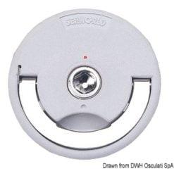 Uchwyt denny składaną rączką - Flush pull winch handle - Kod. 38.177.51 5