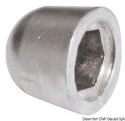 Anoda wymienna turbiny dziobowej/rufowej do Side-Power (Sleipner) - Anodo ric. all. rif.orig. 61180 - Kod. 43.070.21 12