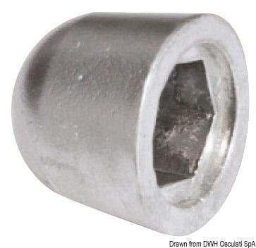 Anoda wymienna turbiny dziobowej/rufowej do Side-Power (Sleipner) - Anodo ric. all. rif.orig. 61180 - Kod. 43.070.21 5