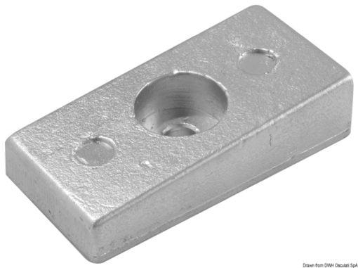 Płyta - Magnesium anode Mercury 30/300 HP - Kod. 43.424.09 3