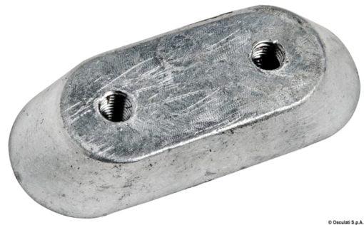 Płytka 10/50 HP - Anodo magnesio piatrina Honda mm 63x25 - Kod. 43.315.23 3