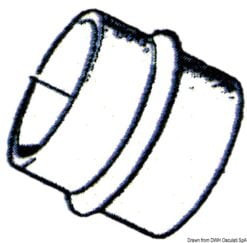 Mieszek i tulejka do Volvo - VOLVO exhaust bellows w/flap - Kod. 43.950.05 15
