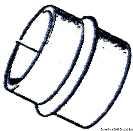Mieszek i tulejka do Volvo - VOLVO exhaust bellows w/flap - Kod. 43.950.05 9