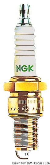Original Japanische NGK Zündkerzen TR5IX - Kod. 47.558.91 3