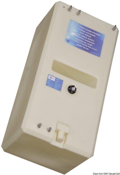 Zbiornik paliwa typu benzyna/ ropa naftowa z polietylenu siatkowego. - Pojemność l 767 - Kod. 52.032.24 5