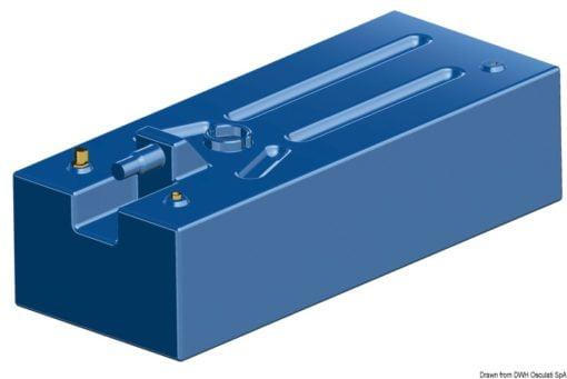 Zbiornik paliwa typu benzyna z polietylenu siatkowego. - Serbatoio Polietilene 315 l benzina/diesel - Kod. 52.039.08 13
