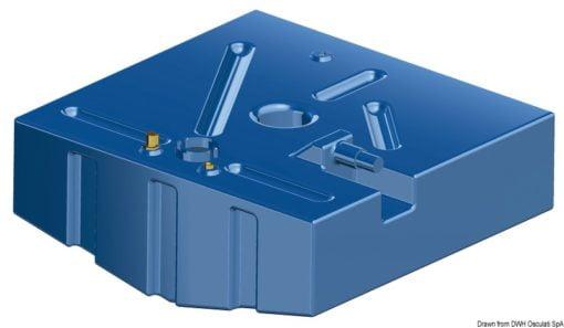Zbiornik paliwa typu benzyna z polietylenu siatkowego. - Serbatoio Polietilene 315 l benzina/diesel - Kod. 52.039.08 11