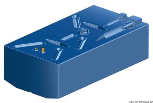Zbiornik paliwa typu benzyna z polietylenu siatkowego. - Serbatoio Polietilene 315 l benzina/diesel - Kod. 52.039.08 10