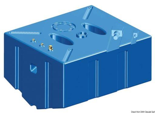Zbiornik paliwa typu benzyna z polietylenu siatkowego. - Serbatoio Polietilene 315 l benzina/diesel - Kod. 52.039.08 8