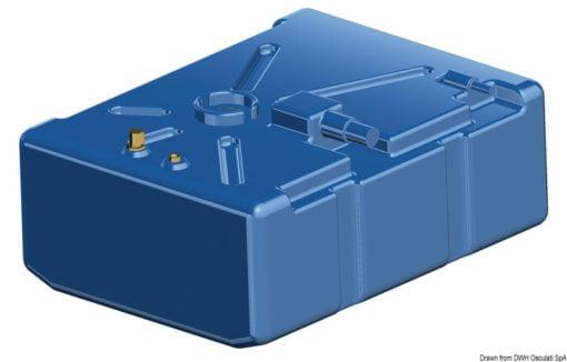 Zbiornik paliwa typu benzyna/ ropa naftowa z polietylenu siatkowego. - Pojemność l 114 - Kod. 52.036.10 10