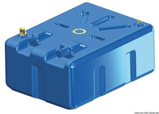 Zbiornik paliwa typu benzyna/ ropa naftowa z polietylenu siatkowego. - Pojemność l 114 - Kod. 52.036.10 8