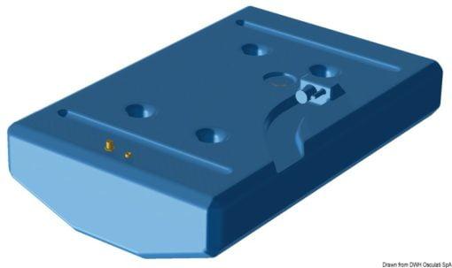 Zbiornik paliwa typu benzyna z polietylenu siatkowego. - Serbatoio Polietilene 315 l benzina/diesel - Kod. 52.039.08 4