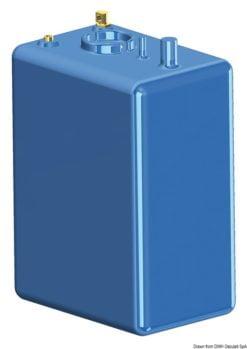Zbiornik paliwa typu benzyna/ ropa naftowa z polietylenu siatkowego. - Pojemność l 114 - Kod. 52.036.10 14