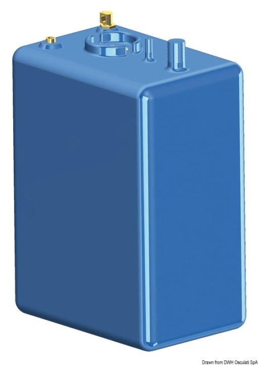 Zbiornik paliwa typu benzyna/ ropa naftowa z polietylenu siatkowego. - Pojemność l 114 - Kod. 52.036.10 7
