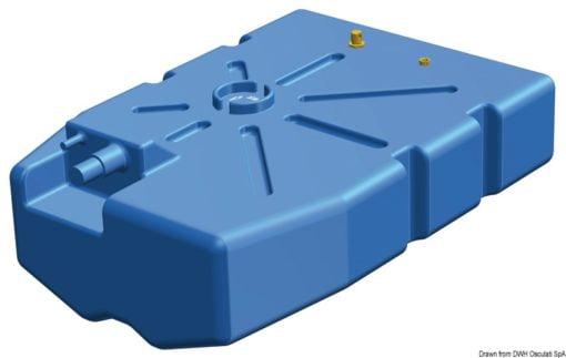 Zbiornik paliwa typu benzyna/ ropa naftowa z polietylenu siatkowego. - Pojemność l 114 - Kod. 52.036.10 3