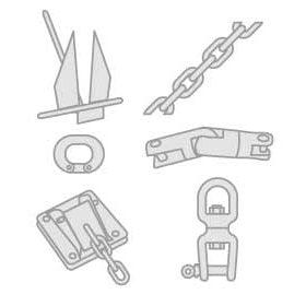 01 - Kotwice, mocowania dziobowe i amortyzatory