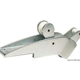 Dziobowe mocowania kotwicy mosiężno-aluminiowe