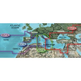 GPS navigation charts