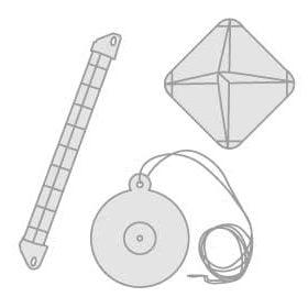 32 - Reflektory radarowe, apteczki z zestawem pierwszej pomocy i dryf-kotwy