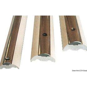 Profile odbojowe z nierdzewnej stali i wkładki z PVC