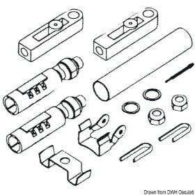 Zestaw połączeniowy kabli sterowniczych do silników różnych marek