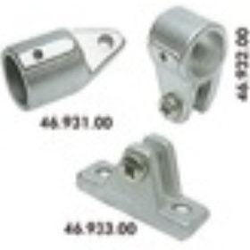 Akcesoria do daszków z aluminium anodyzowanego