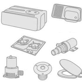 50 - Zlewozmywaki, kuchenki, lodówki, wc