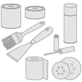65 - Izolatory, środki czyszczące, farby