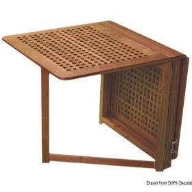 Stoły i krzesła ARC z drewna tekowego