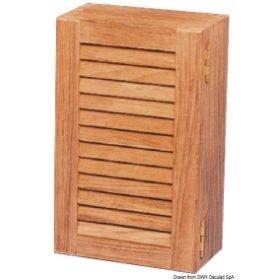 Szafki, drzwiczki i uchwyty ARC z drewna tekowego