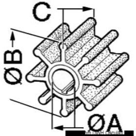 Wirniki do pomp silników wewnątrzburtowych